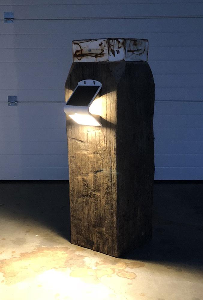 Buitenlamp Solar Led Wit